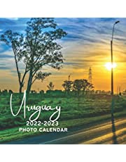 Uruguay 2022-2023 Photo Calendar: A Cute Nature Country Office Desk Mini 18 Months 2022 | 2023 Monthly Yearly Planner