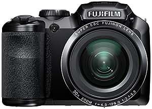 "Fujifilm FinePix S4800 - Cámara digital (16 MP, compacto, 25.4/58.4 mm (1/2.3 ""), 30 x, 7.2 x, 4.3 - 129 mm) Negro"