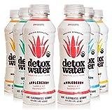 detoxwater Bioactive Aloe Water Sampler Pack 16 Fluid Ounces, Pack of 6