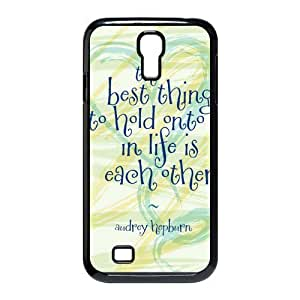 Mystic Zone Audrey Hepburn Quote Y Cover Case for SamSung Galaxy S4 I9500