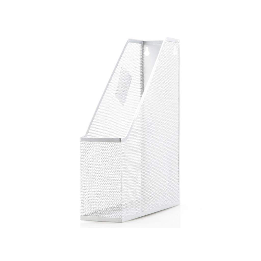 LCSHAN Desktop File Cabinet Metal Office Supplies Storage Simple Idea (Color : Silver) by File Shelf
