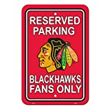 "Reserve your spot and show your team pride with the ""Original"" that started it all.  Great for any room in the house.  This styrene plastic parking sign is 12"" x 18"" . Made in USA."