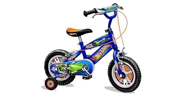 Hot Wheels HW950034NBA - Bicicleta Infantil con ruedines, 30 cm ...