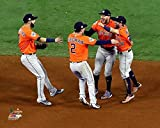 Houston Astros Infield Celebrate Their Victory Of The 2017 World Series. 8x10 Photo Picture.(infield)