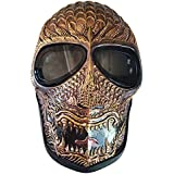 Invader King Ancient Dragon Army of Two Airsoft Mask Protective Gear Outdoor Sport Fancy Party Ghost