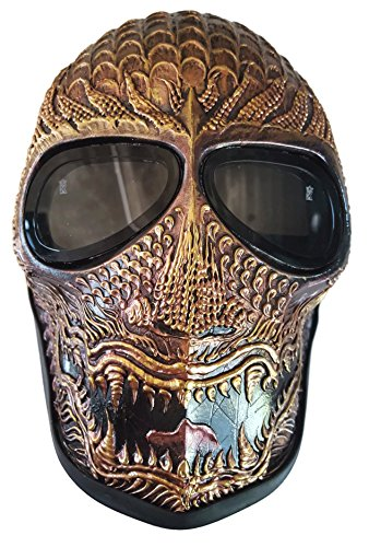 Invader King Ancient Dragon Army of Two Airsoft Mask Protective Gear Outdoor Sport Fancy Party Ghost Masks Bb Gun