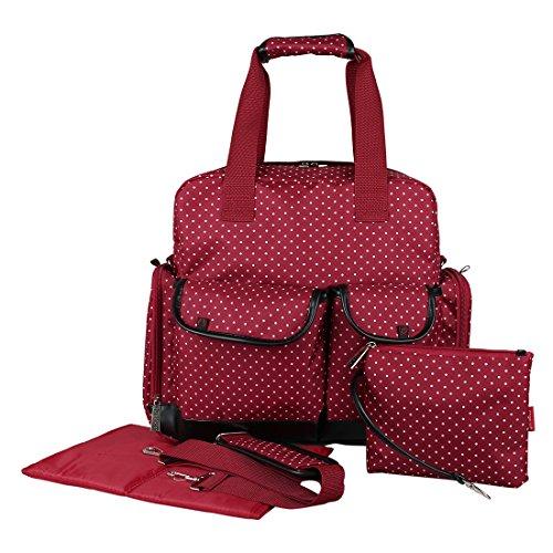 ECOSUSI Baby Diaper Bag Backpack Shoulder Bag Nappy Tote Bag