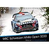 WRC Schweden White Open 2020 (Tischkalender 2020 DIN A5 quer): Impressionen der WRC Winterrallye in Schweden (Monatskalender, 14 Seiten )