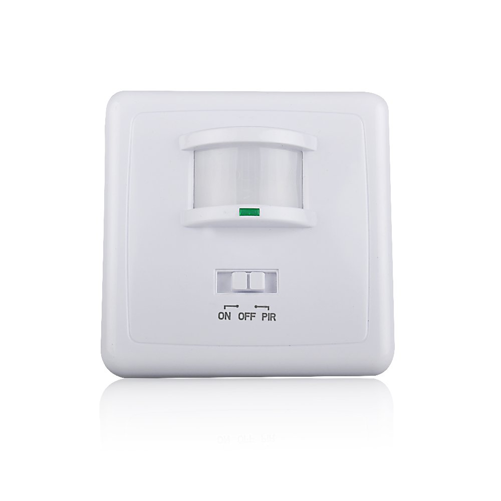 Sensky Sk031b 220 240v Ac Wall Mounted 9m Automatic Pir Infrared Led Washroom Light Switch Circuit Diagram And Working Motion Sensor For Lighting