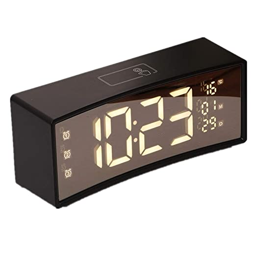 Reloj de mesa Reloj despertador digital LED multifunción con USB ...