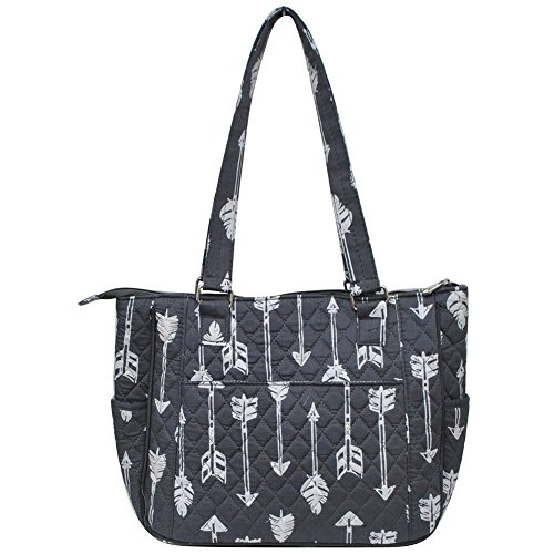 Arrow Style Quilted grey Hobo NGIL Handbag Fashion XgB6xR