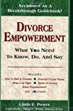 Divorce Empowerment, Linda E. Power, 0972761616