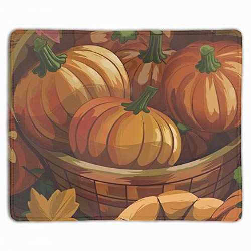Smooffly Mouse pad Unique Design Mouse Pad Cool Halloween Pumpkin Design Gaming Mousepad