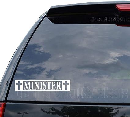 Minister Vinyl Decal Sticker Car Truck Motorcycle Window Ipad