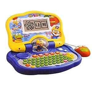 Amazon.com: Pororo Korean and English Learning Toy Laptop ...