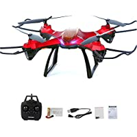 RC Foldable Drone, Beyondsky RC Quadcopter Wifi FPV with 2MP HD Camera 2.4G 6-Axis Gyro Headless Mode One Key Return
