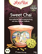 Yogi Tea Sweet Chai Bio, 3er Pack (3 x 34 g)