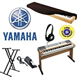 : Yamaha YPG-635 88 Key Digital Piano with Headphones a Dust Cover a Sustain Pedal and a Keyboard Stand with and Additional 2 Year Warranty