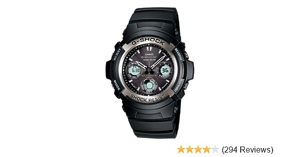 Amazon.com: Casio Mens AWG100-1A G-Shock Multi-Band Solar ...