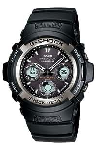Casio Men's AWG100-1A G-Shock Multi-Band Solar Atomic Analog Watch