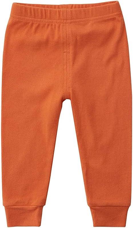 Bebé Leggings Niño Niña Básico Pantalones Largo Algodón Banda Elástica Ropa 9-12 Meses: Amazon.es: Bebé