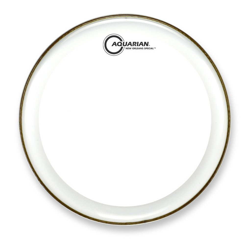 Aquarian NOS14 Drumheads New Orleans Special 14-Inch Snare Drum Head, with Dot
