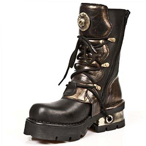 Nuovi Stivali Di Roccia M.373-c40 Gotico Hardrock Punk Unisex Stiefel Braun