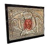 Handmade Greek Christian Orthodox Wood-Metallic