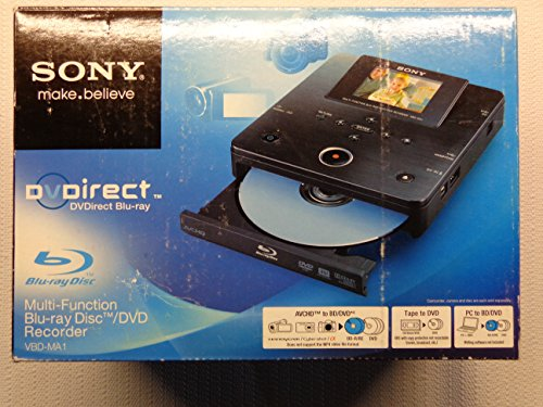 Sony VBD-MA1 DVDirect MA1 MultiFunction Blu-Ray Disc/DVD Rec