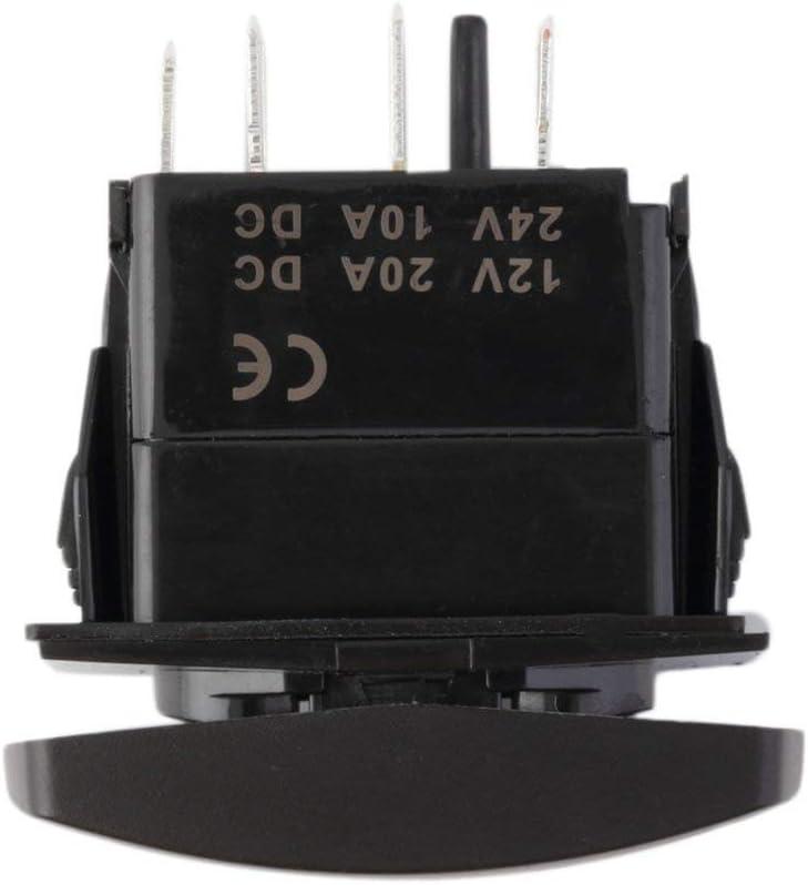 Greatwall 7PIN Laser grav/é ARB Carling Narva Interrupteur /à Bascule LED Pare-Chocs de lumi/ère Bleu 3#