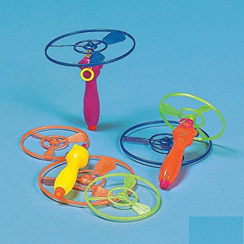 Mini Flying Disk Shooters 12/pk.
