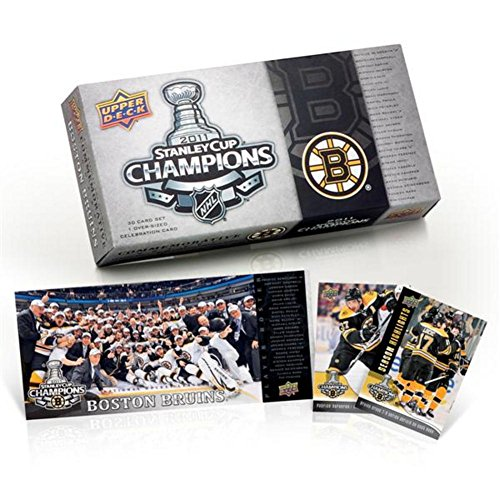 2011 Upper Deck Stanley Cup Champions 30 Card Set - Boston Bruins Commemorative Box Set