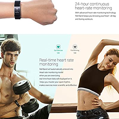 iWOWNfit i6 pro Smart Band Bluetooth Wristband Fitness Tracker with Heart Rate Monitor for Android IOS