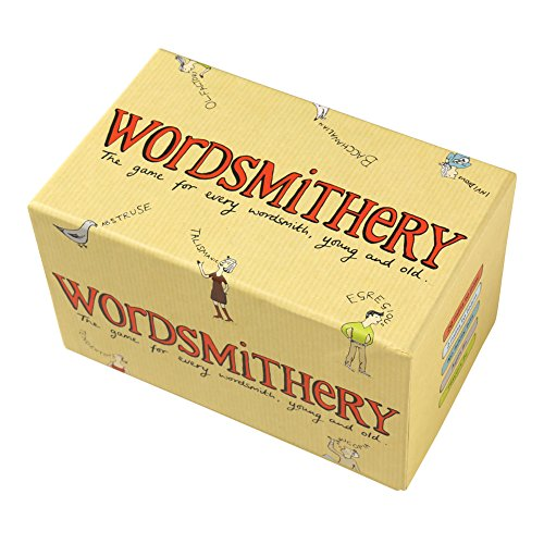 CLARENDON GAMES Wordsmithery Game - Party Quiz Word Definition Game - 2 Players (Word Thief Game)