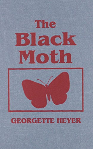 book cover of The Black Moth