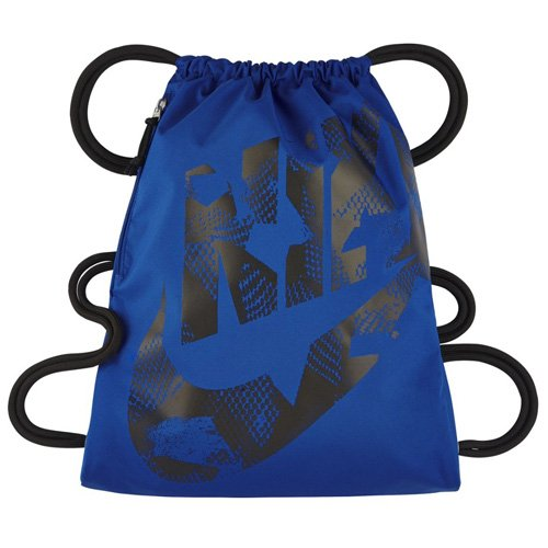 (Nike Heritage Gym Sack (Game Royal Blue/Black, One)