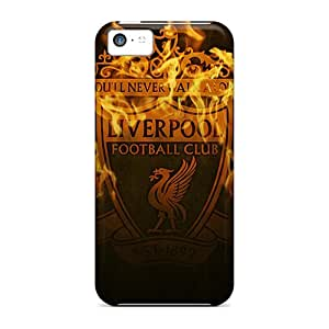 Premium Liverpool Build In Fire Back Cover Snap On Case For Iphone 5c