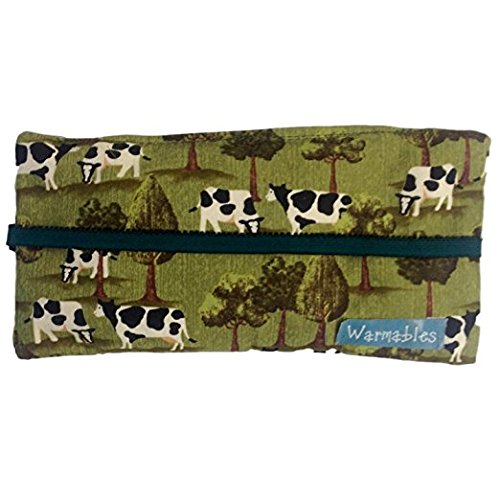 - Warmables Eye Pillow Natural Heat Pack Dry Eye Relief, grazing cows