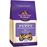 Old Mother Hubbard Classic Crunchy Natural Puppy Treats, Mini Dog Biscuits, 5-Ounce Bag