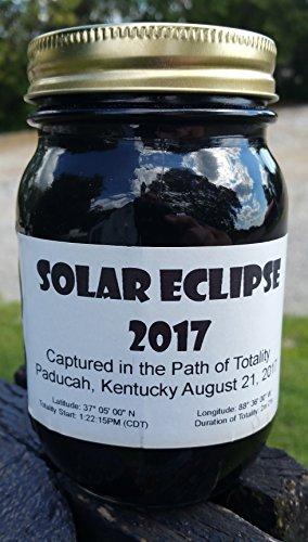 Solar Eclipse 2017 Memento Path of Totality Paducah, Kentucky Kentucky Path