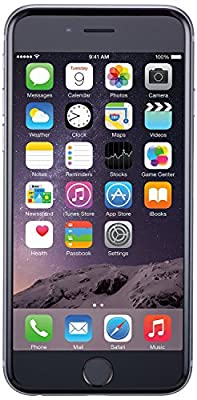 Apple iPhone 6 Plus, GSM Unlocked, 128GB - Space Gray (Certified Refurbished) from Apple Computer