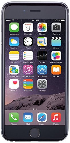 Apple iPhone 6 Plus, GSM Unlocked, 128GB - Space Gray (Certified Refurbished)