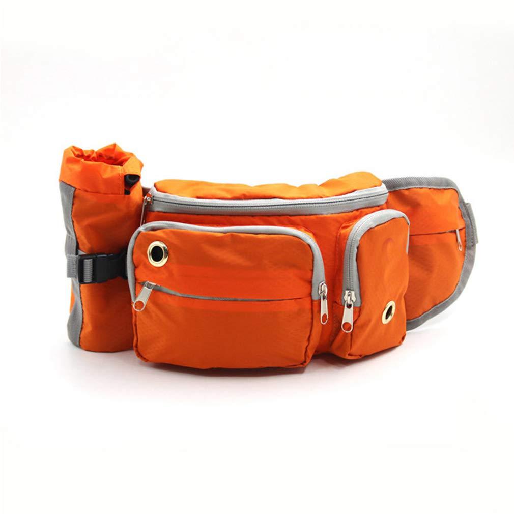 EBRICKON Portable Adjustable Running Waist Bag Dog Training Waist Bag Travel Sports Bag Carry Snacks Garbage Bag for Dog Leash by EBRICKON