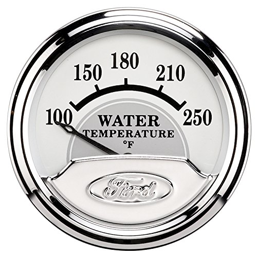 Auto Meter 880353 Ford Racing Series Electric Water Temperature Gauge by Auto Meter