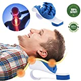 Aquapro Chiropractic Pillow - Neck and Shoulder Relaxer Cervical Pillow Neck Traction Device for Pain Relief Management...