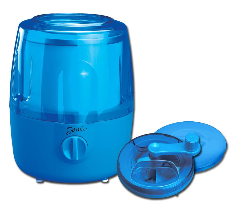 Amazon.com: Deni 5201 Fully Automatic 1-1/2-Quart Ice-Cream Maker ...