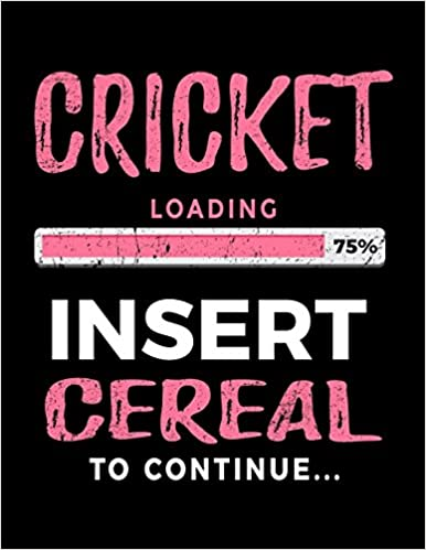Cricket Loading 75% Insert Cereal To Continue: Blank Sketch, Draw And Doodle Book por Dartan Creations Gratis