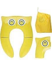 Asiento de Inodoro Plegable para Niños, Opret Tapa WC Orinal Bebe Reductor Compacto y Portátil