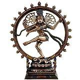 Idol Collections Bonded Bronze Nataraja Shiva Idol Sculpture, Height : 10' | Home Decor