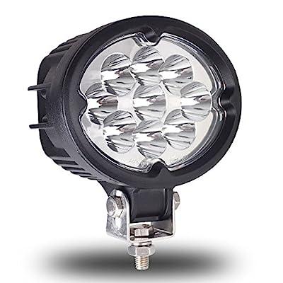 "Kohree 5.5"" 45W Off Road LED Work Light Driving Lamp Spot Light for Jeep Cabin/UTE/SUV/ATV/Truck/Car/Boat"